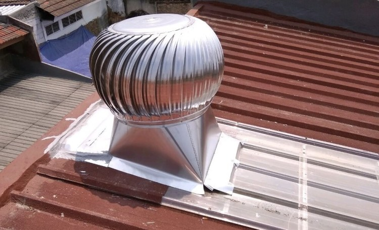 Jual Cyclone Turbine Ventilator Bali 03
