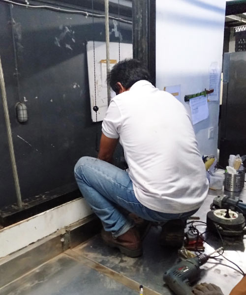 Jasa Pembuatan Dumbwaiter atau Lift makanan di Bali 11