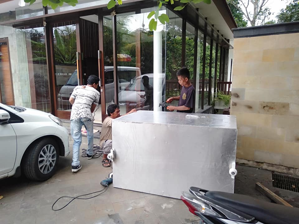 Jasa Pembuatan Lift Barang di Aura Organik Tabanan Bali 3